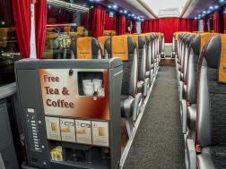 Безплатен чай и кафе в автобусите на ECOLINES