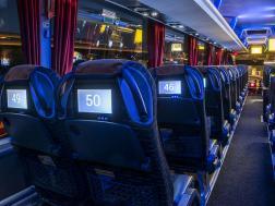 Интериор в автобус на ECOLINES
