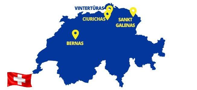 Autobusai į Šveicariją - ECOLINES