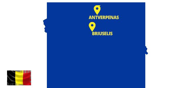 Autobusai į Belgiją