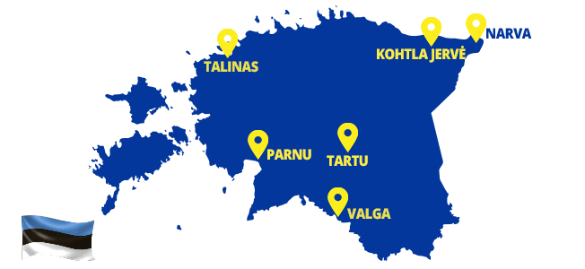 Autobusai į Estiją - ECOLINES