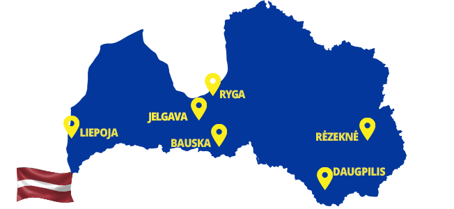 Autobusai į Latviją - ECOLINES