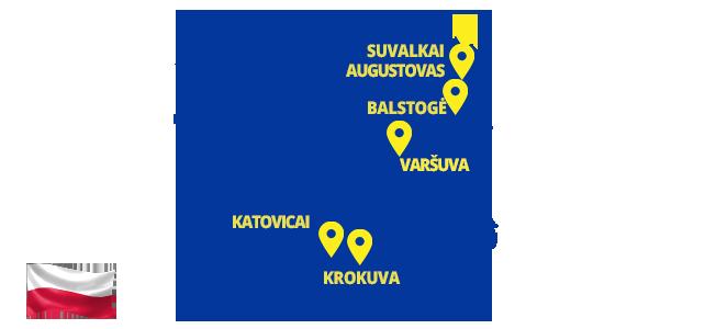 Autobusai į Lenkiją - ECOLINES
