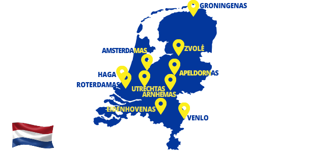 Autobusai į Olandiją - ECOLINES