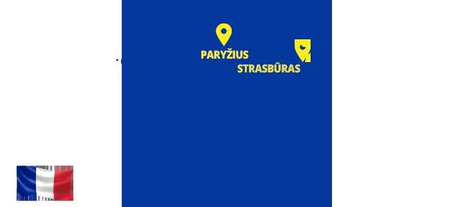 Autobusai į Prancūziją - ECOLINES