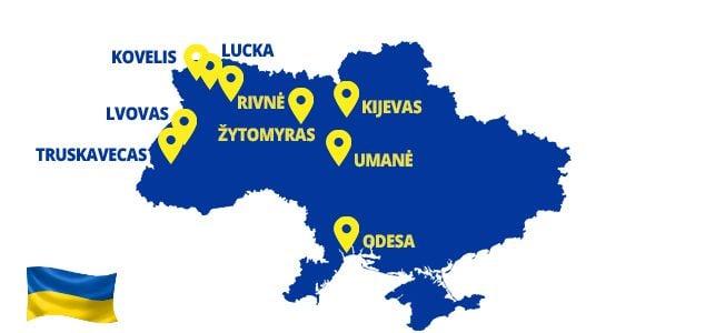 Autobusai į Ukrainą - ECOLINES