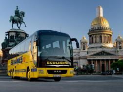 Ecolines komfortiški autobusai