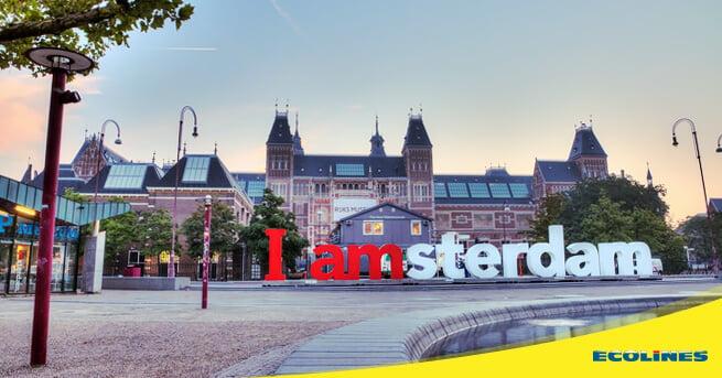 Bus Riga - Amsterdam