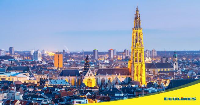 Bus Riga - Antwerpen