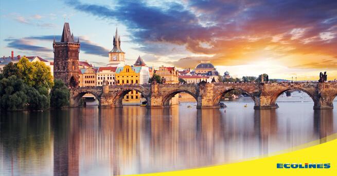 Автобус Рига - Прага