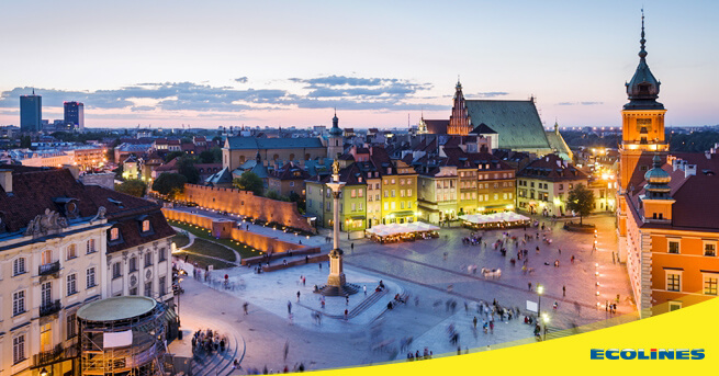 Bus Riga - Warsaw